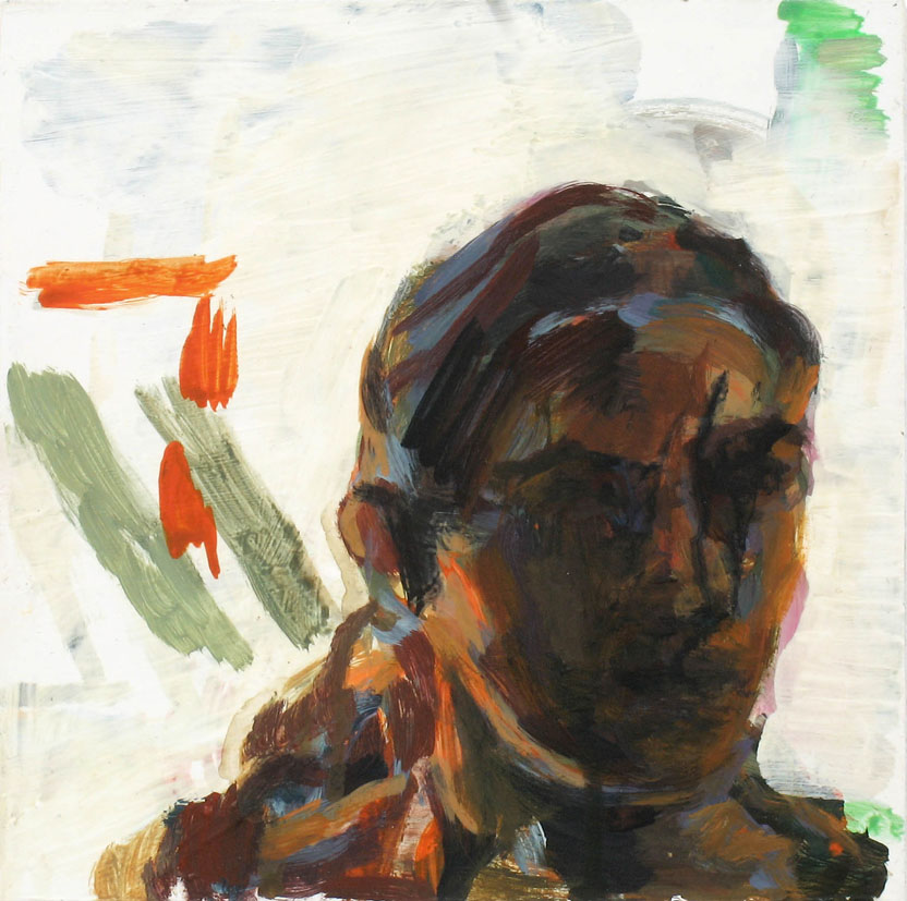 solo, 20 x 20 cm, Acryl auf Hartfaserplatte