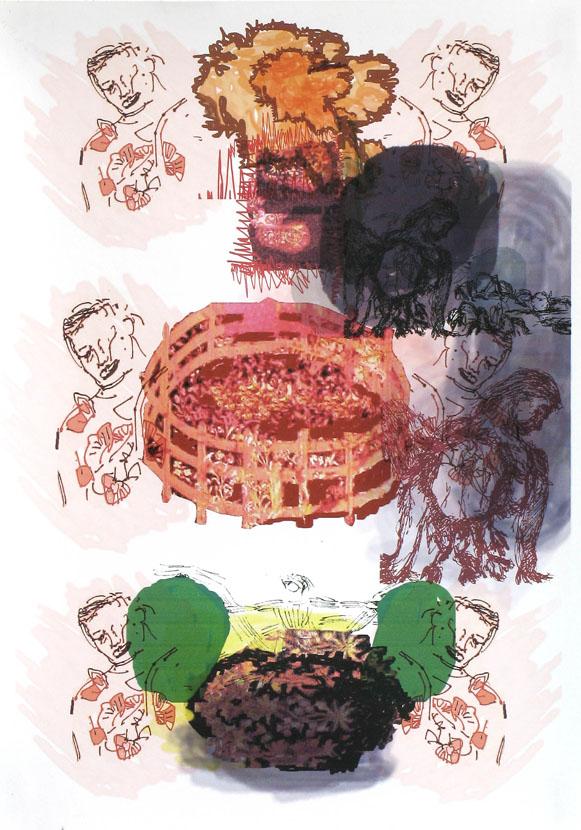 Klappbild, 30 x 20 cm, Digitaldruck