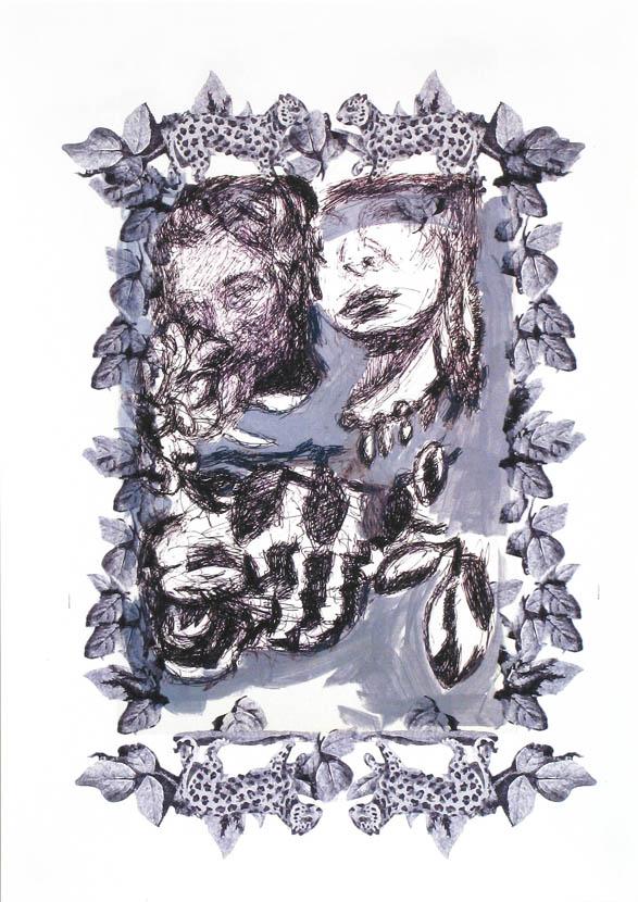 Halbdunkel, 30 x 20 cm, Digitaldruck