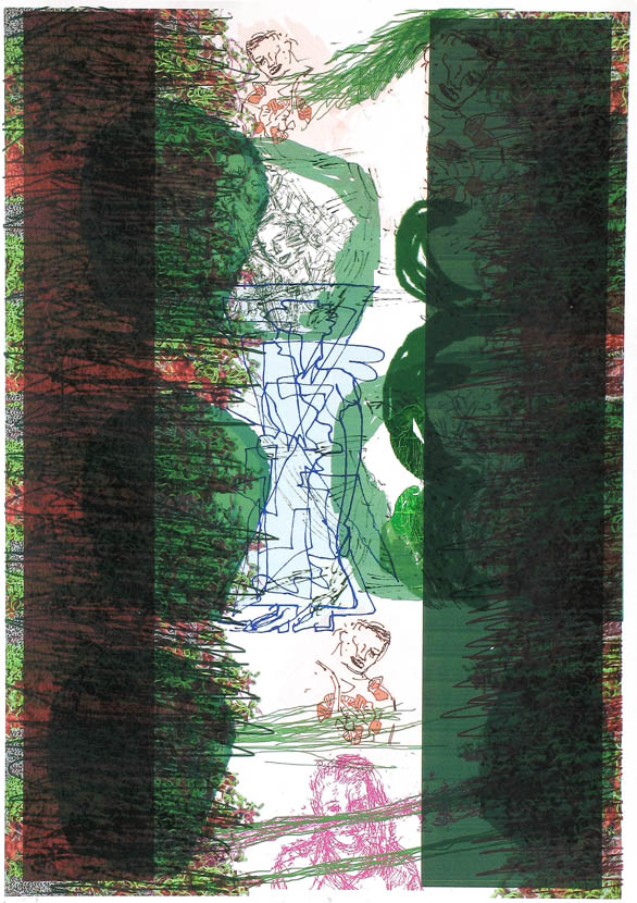 Nische, 30 x 20 cm, Digitaldruck