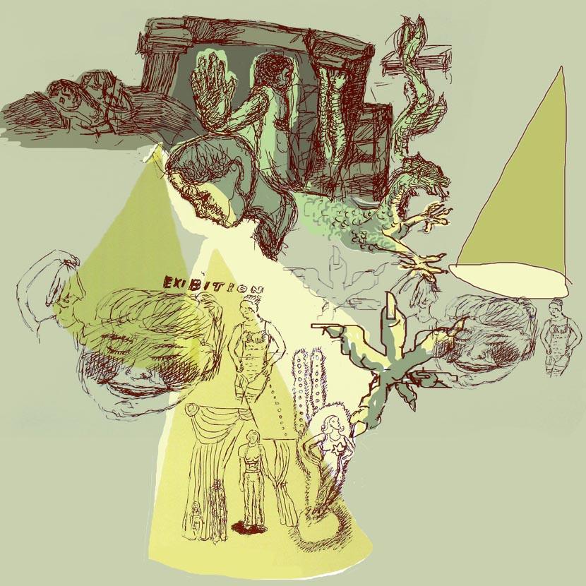 o. T., 21 x 21 cm, Digitaldruck
