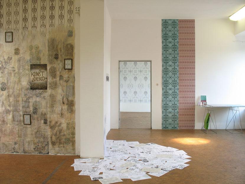 Kunde Nr. 98, Raumansicht, Galerie Herold