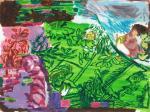 gemeinsamer Horizont, 30 x 40 cm, Acryl auf Hartfaserplatte