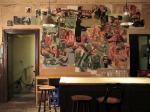 mehrteilige Malerei auf Hartfaserplatten, Fruehperle Berlin