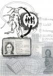 Waerme, Licht, Nahrung, Schutz, 40 x 30 cm, Pigmenttusche, Bleistift, Zeichenkreide