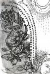 o.T., 30 x 21 cm, Pigmenttusche, Bleistift